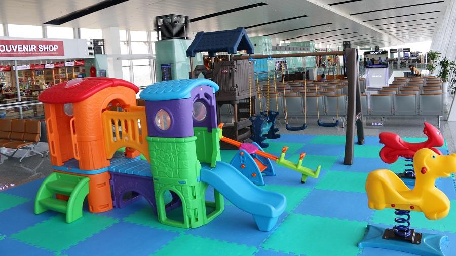 Khu vui chơi trẻ em trong sân bay Nội Bài