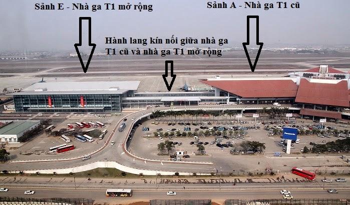 Giới thiệu chung về sân bay Nội Bài.