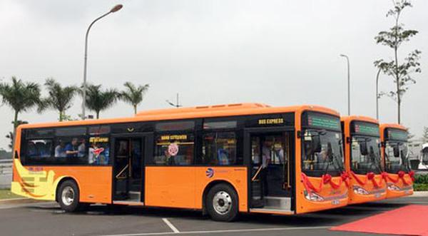 Buýt chất lượng cao sân bay Nội Bài