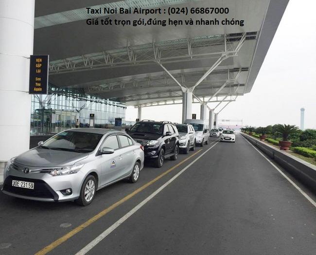 Taxi Hà Nội đi Nội Bài : 180k/4 chỗ