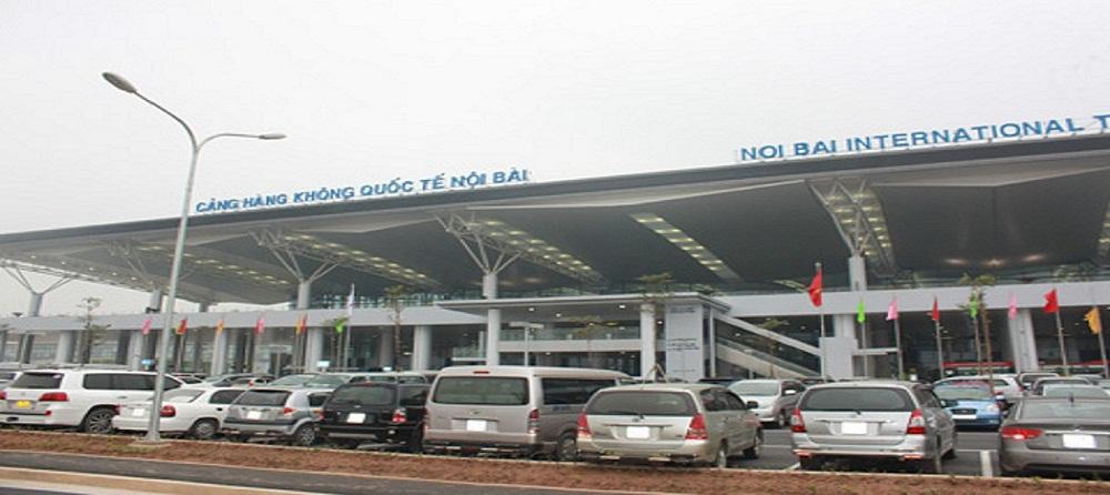 Vị Trí đỗ xe tại Sân Bay Nội Bài